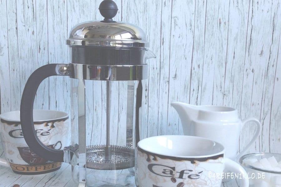 Kaffee mit BODUM