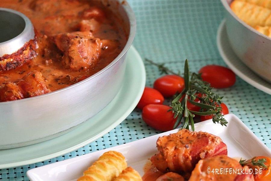 Toskanischer Filettopf Omnia-Backofen-Rezept
