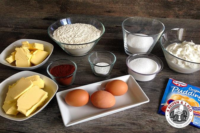 Zutaten Russischer Zupfkuchen