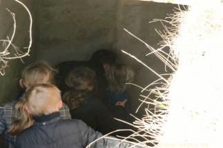 mal wieder kind sein-herbst-im bunker