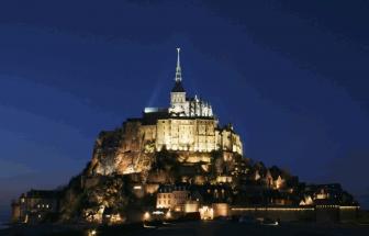 st. michel-bei nacht-klosterberg