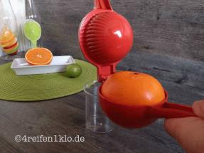 Orangenpresse Genius
