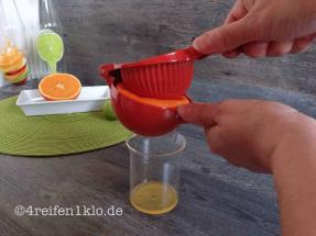 Ausgepresster Orangensaft