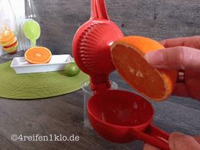 Orangenpresse von Genius