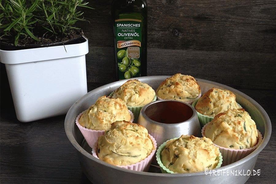 Zucchini-Muffins im Omnia-Campingbackofen Rezepte