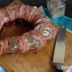 """Omnia-Rezept """"Bacon-Hackrolle"""""""