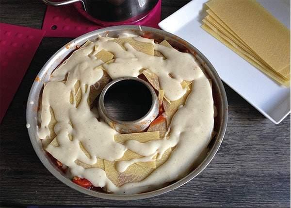 Lasagne Béchamelsoße | Omnia-Backofen