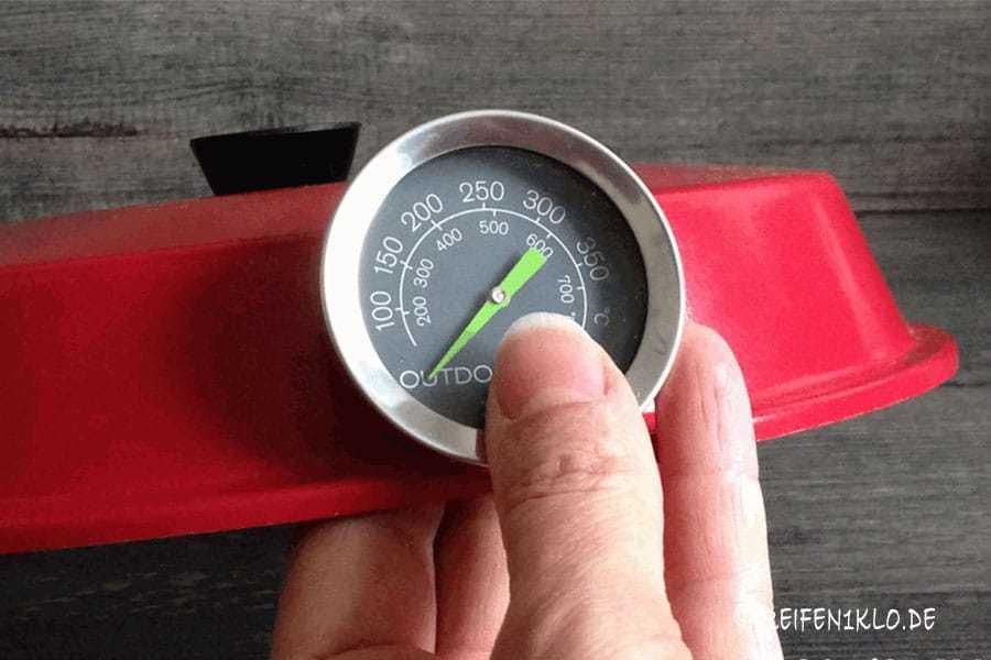 Thermometer Outdoorchef für den Omnia Backofen