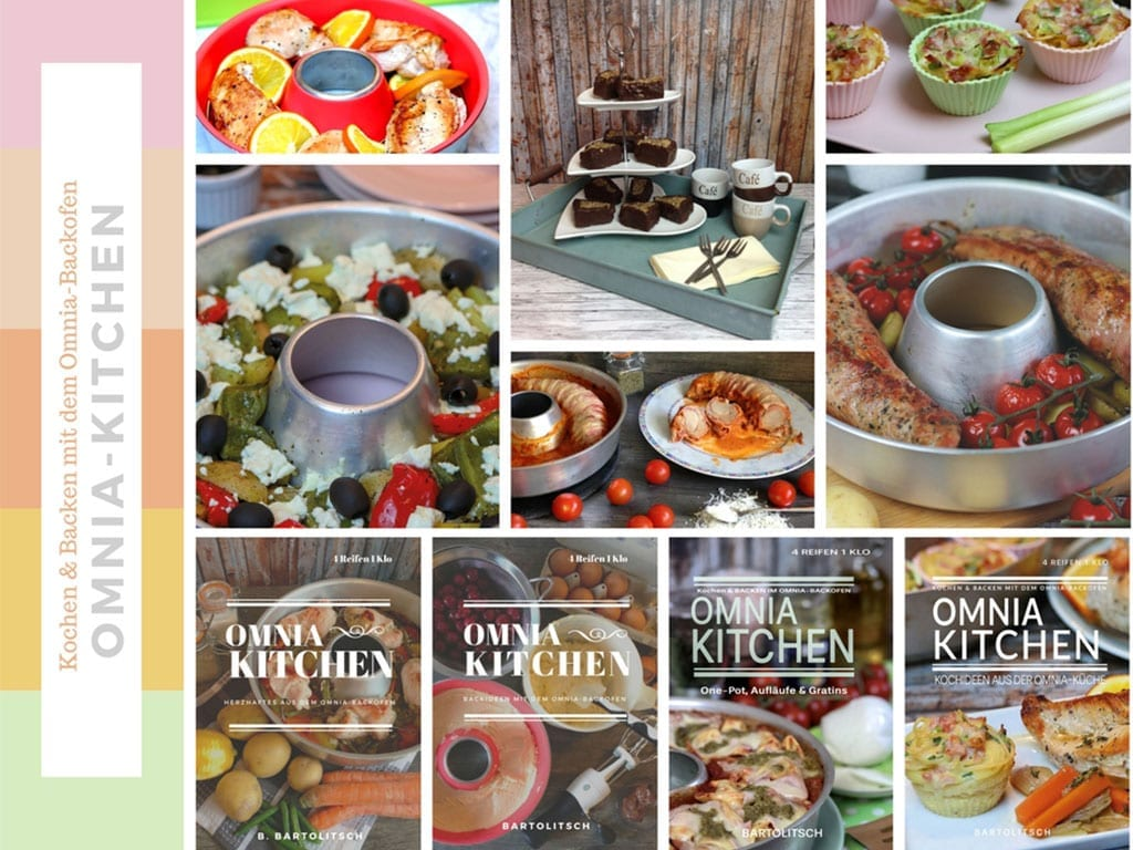 omnia kitchen kochb cher und backb cher f r den omnia backofen. Black Bedroom Furniture Sets. Home Design Ideas