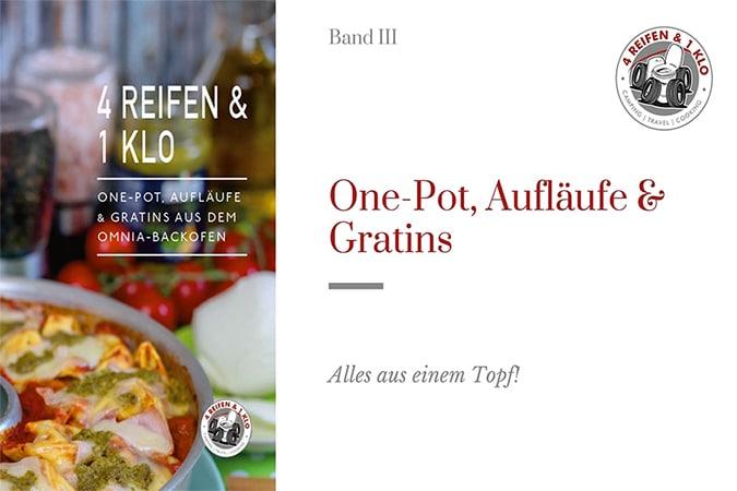 One-Pot Rezeptbuch 4 Reifen 1 Klo