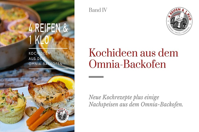 Kochideen Kochbuch für den Omnia Backofen