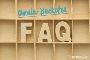 FAQ Omnia-Backofen