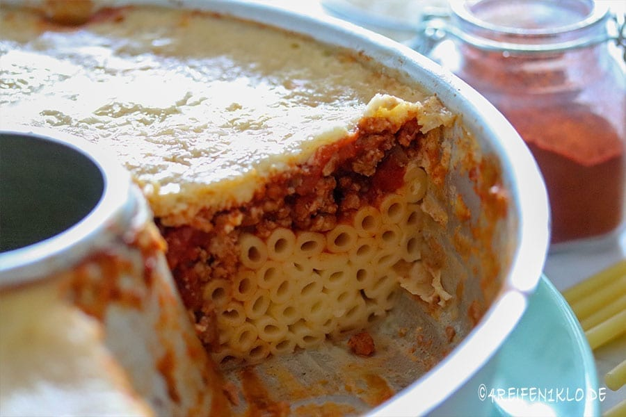 Pastizio im Omnia-Backofen | Omnia-Rezepte