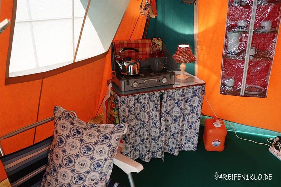 Campingküche 1962