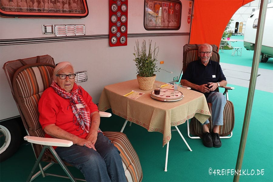 Camper-Oldies auf dem Caravan Salon 2018