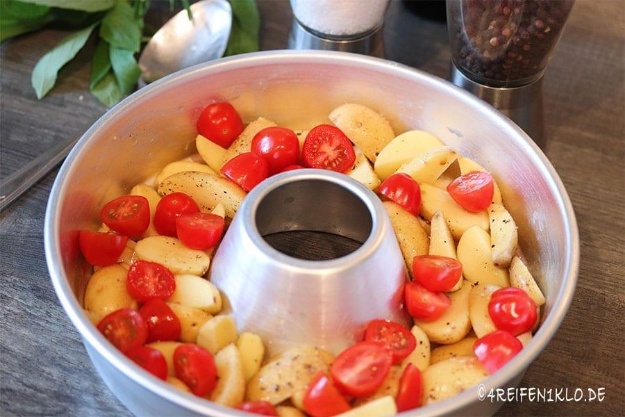 Toskanisches Huhn Gemüse