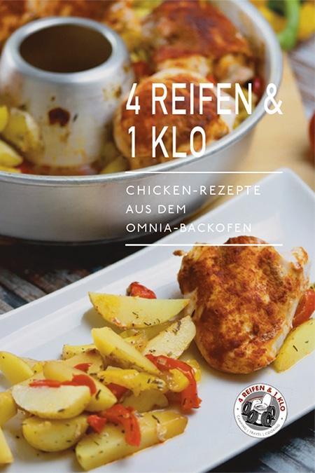 Chicken-Rezepte aus dem Omnia-Backofen
