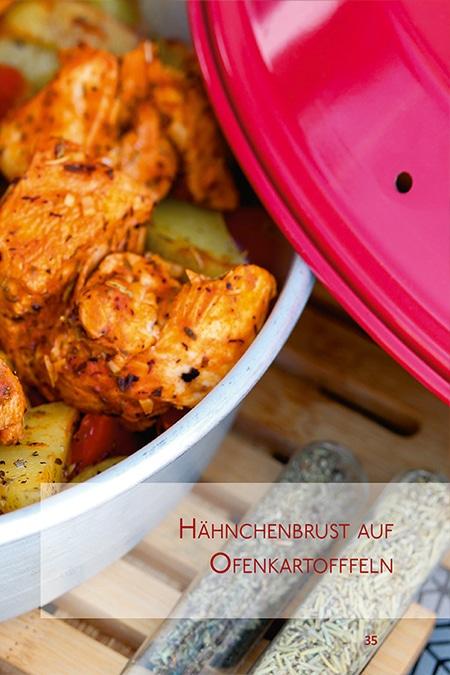 Chicken-Rezepte aus dem Omnia Campingbackofen