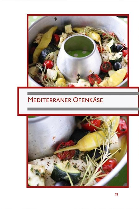 Mediterraner Ofenkäse Kochbuch Omnia Backofen
