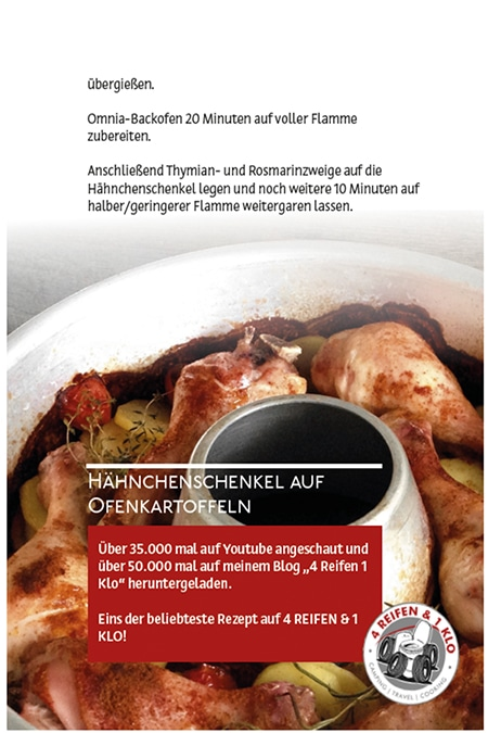 Rezepte aus Herzhaftes aus dem Omnia-Backofen