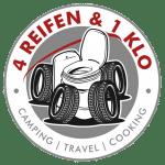 4 Reifen & 1 Klo Logo