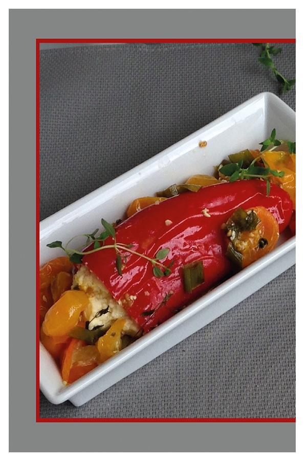 Spitzpaprika Vegetarisches Rezeptbuch Omnia-Backofen