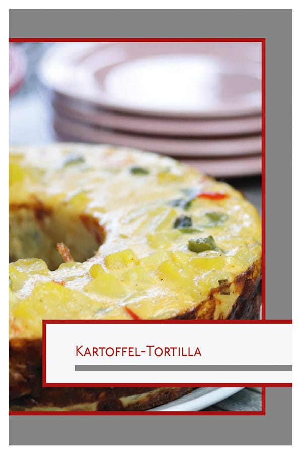 Kartoffel Tortilla Vegetarisches Rezeptbuch