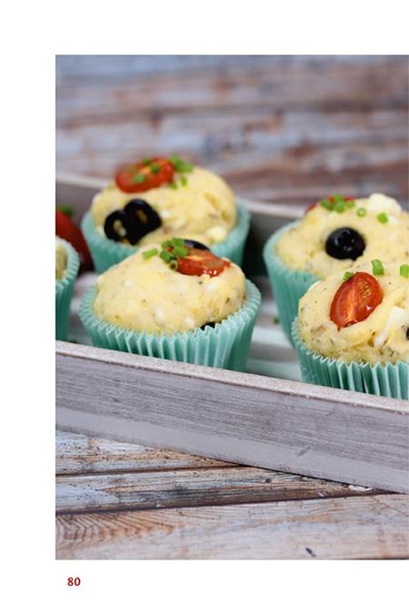 Herzhafte Muffins mit der Omnia Muffinform
