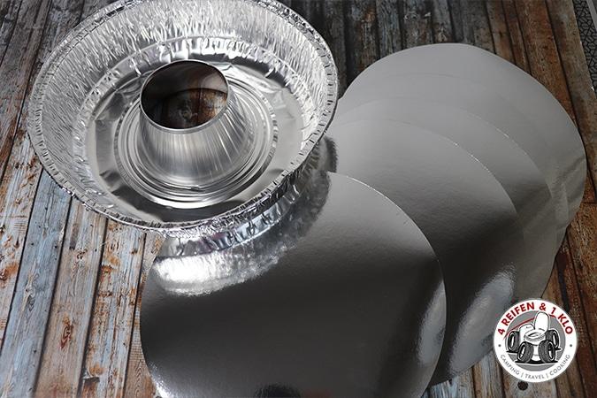 Folienform - Zubehör für den Omnia Backofen