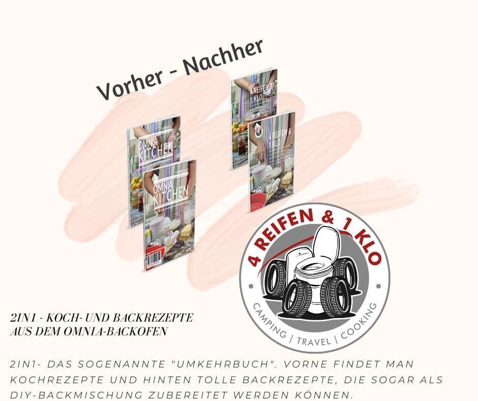 2in1 - Koch- und Backideen | Kochbuch Omnia Backofen