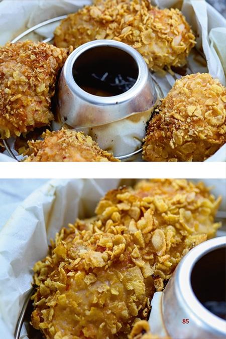 Crispy Chicken Kochbuch Omnia Backofen