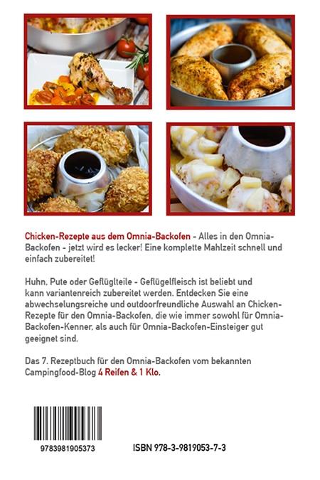 Chicken Rezepte aus dem Omnia Backofen