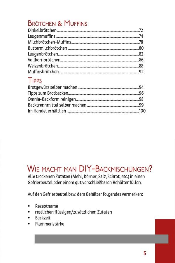 Brötchen im Omnia Backofen backen | Rezeptbuch