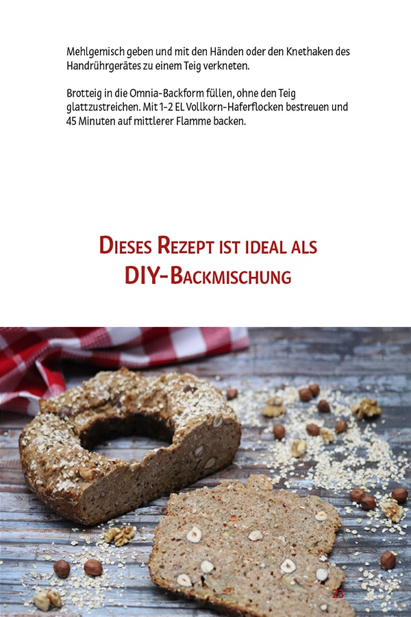 Nussknacker-Vollkornbrot Rezeptbuch Brot & Brötchen