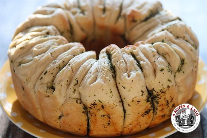 Faltenbrot aus Hefe | Omnia Backofen Rezept