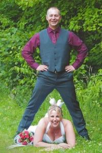 Frank und Bianca haben geheiratet